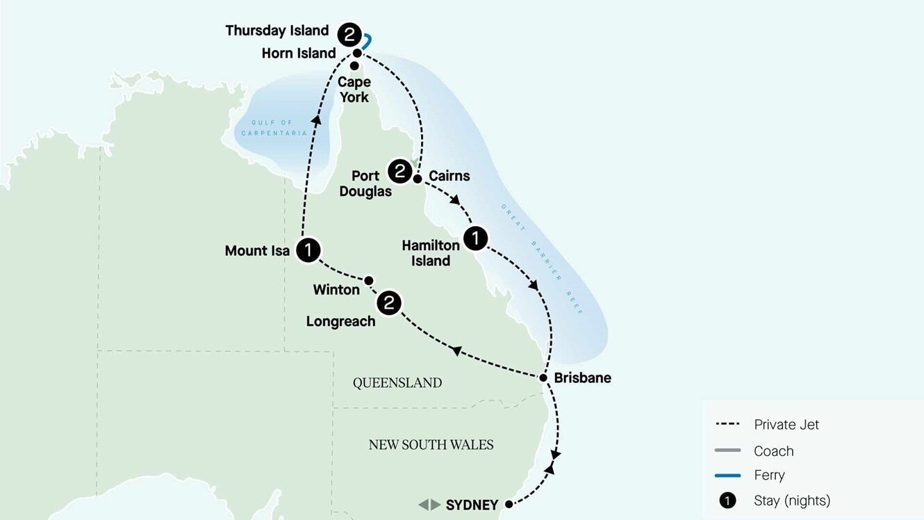 Queensland Outback and Tropics